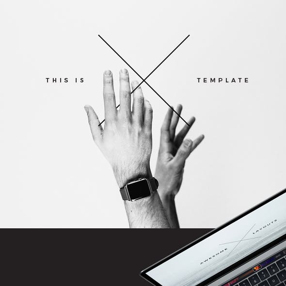 X Keynote Template