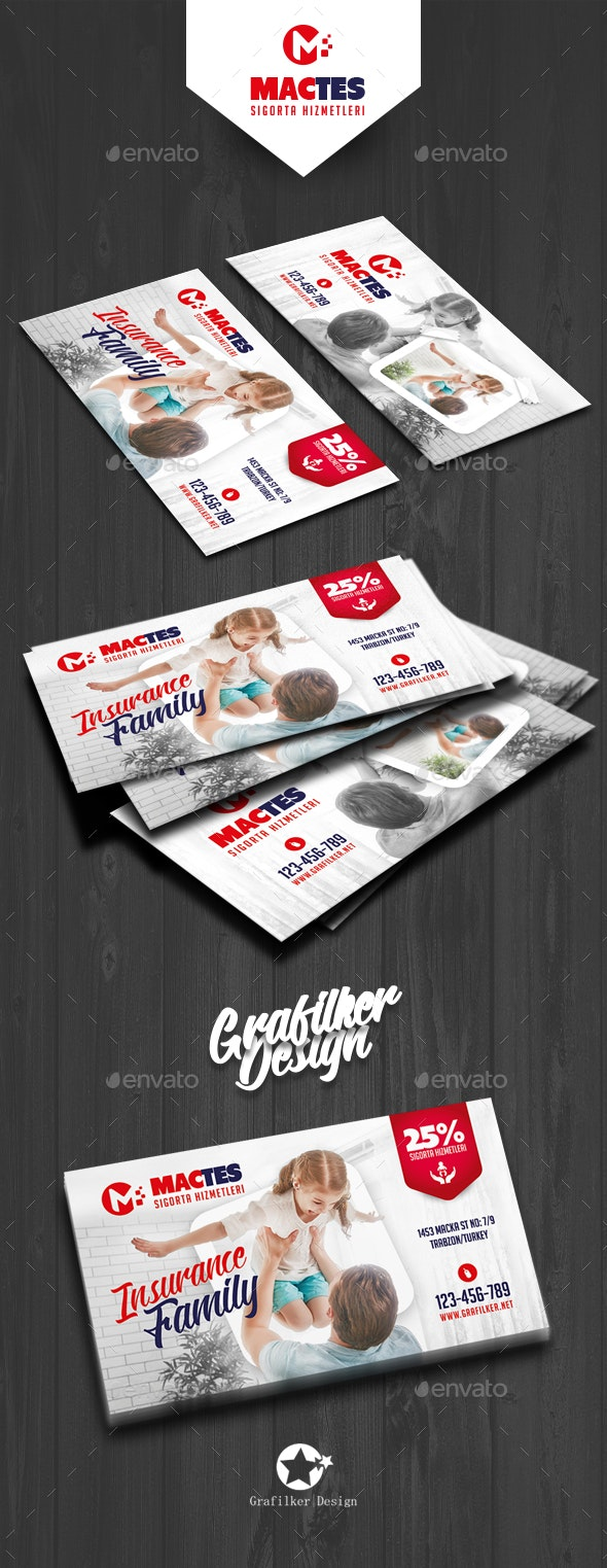 Insurance Business Card Templates - Corporate Business Cards