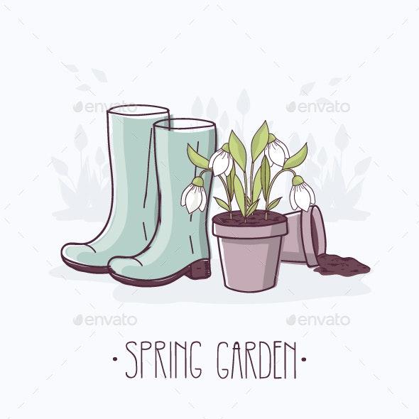 Spring Garden - Seasons Nature