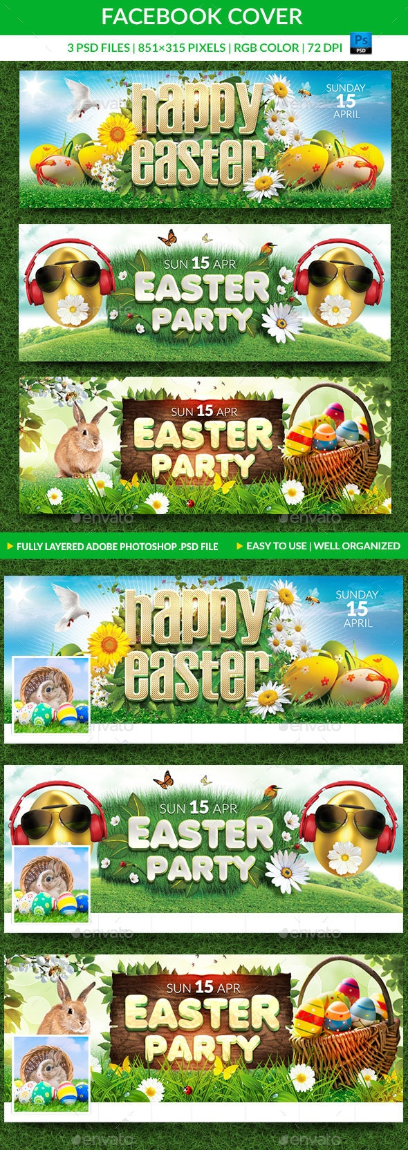Easter Facebook Covers - Facebook Timeline Covers Social Media