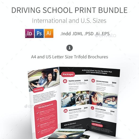 Driving School Print Bundle