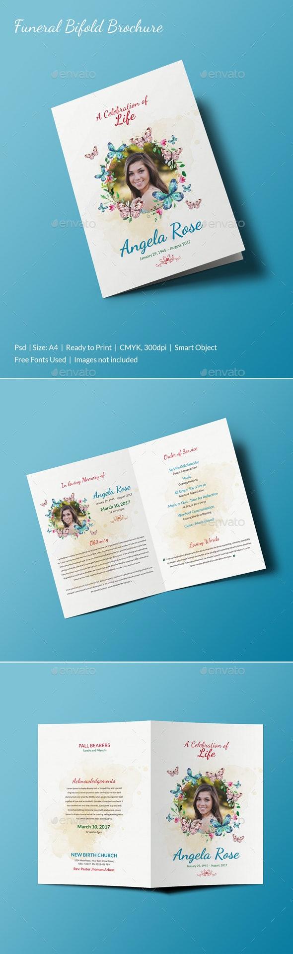 Funeral Brochure - Print Templates