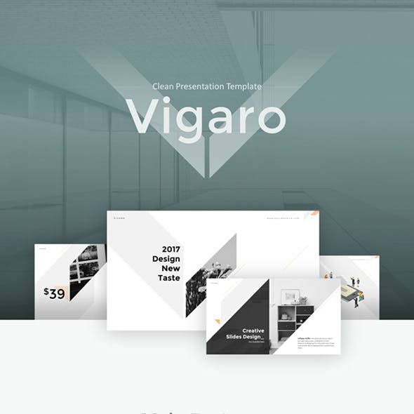 Vigaro Powerpoint Template