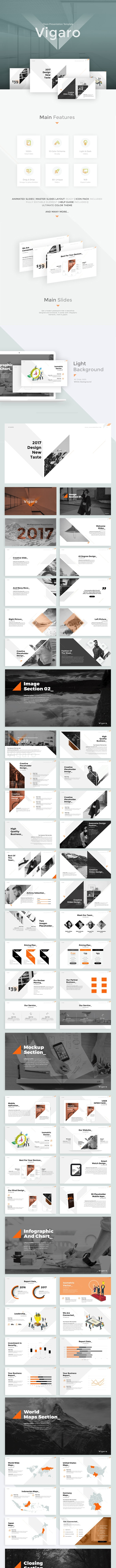 Vigaro Powerpoint Template - Business PowerPoint Templates