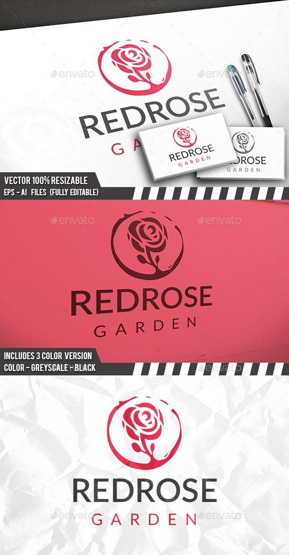 Rose Logo - Nature Logo Templates