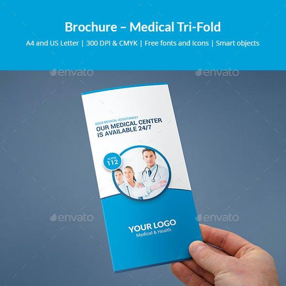 Brochure – Medical Tri-Fold