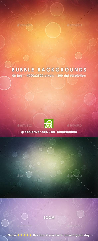 Bubble Backgrounds - Backgrounds Graphics