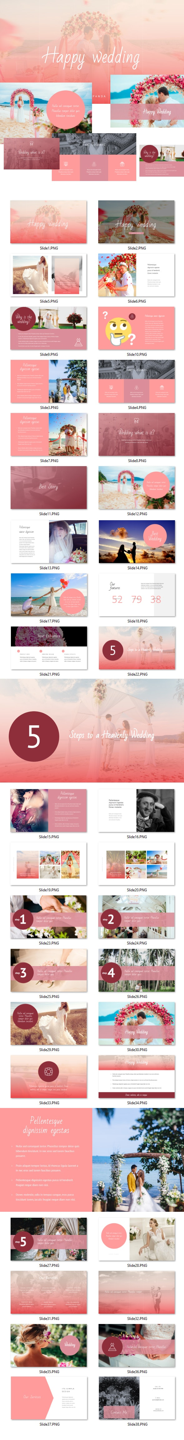 Wedding - Powerpoint - PowerPoint Templates Presentation Templates