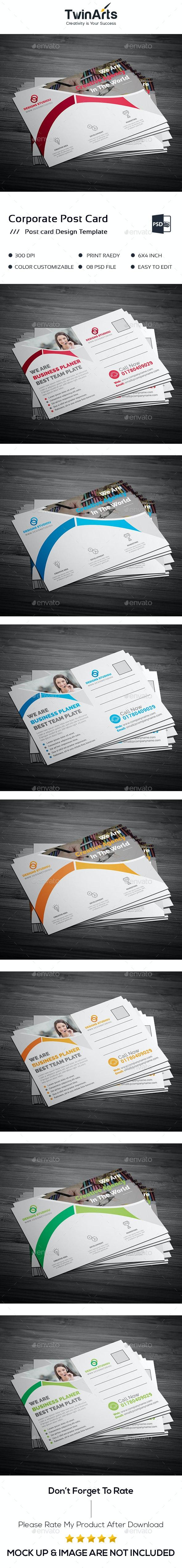 Post card design. - Cards & Invites Print Templates