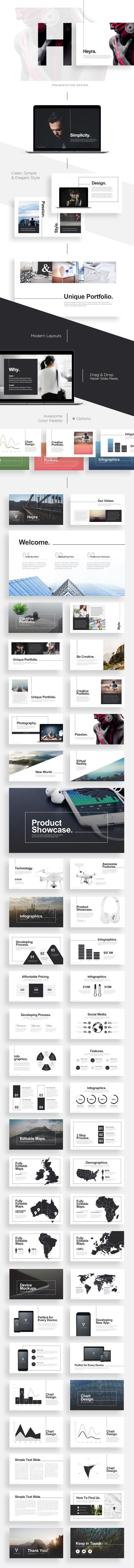 Heyra Powerpoint Template - PowerPoint Templates Presentation Templates