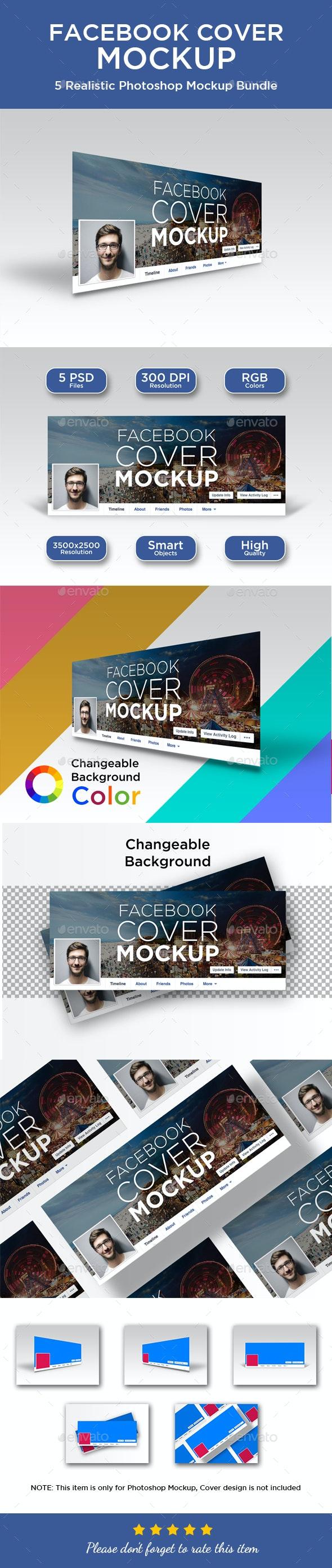 Facebook Cover Mockup by graphicdesigno | GraphicRiver