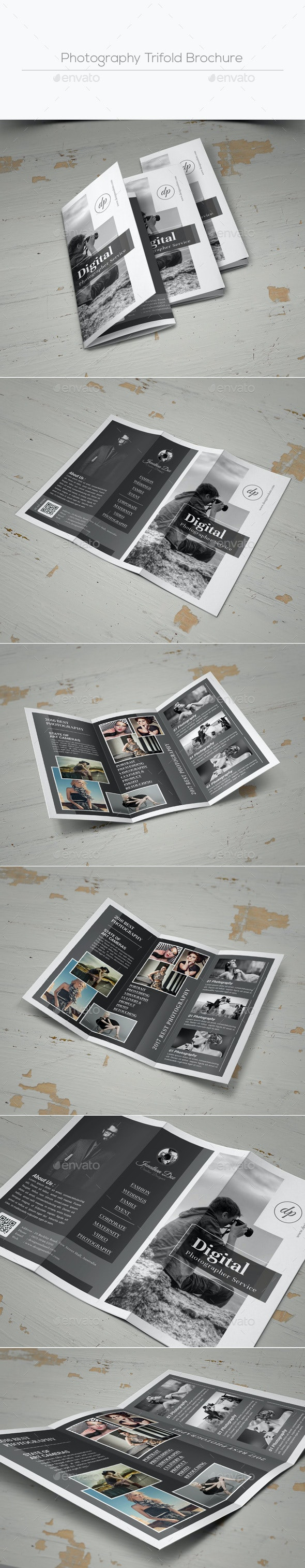 Photography Trifold Brochure - Corporate Brochures