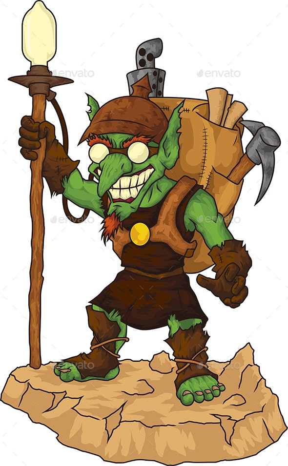Miner Goblin - Monsters Characters