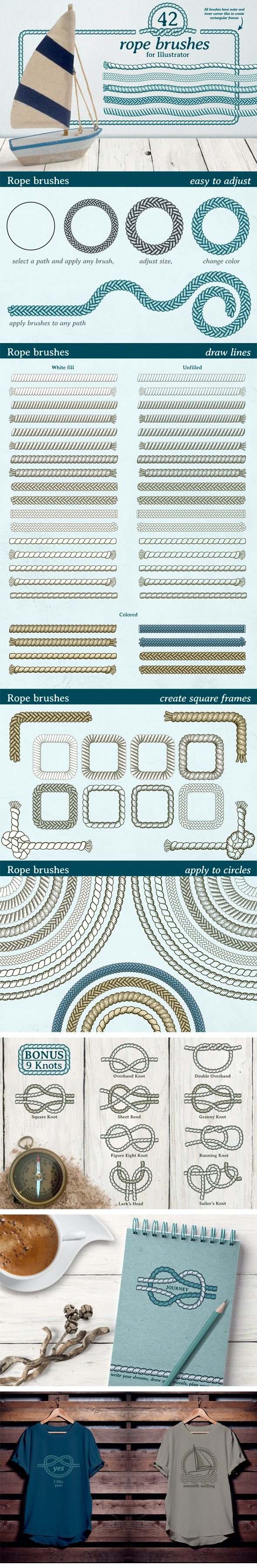 Rope Brushes - Miscellaneous Brushes