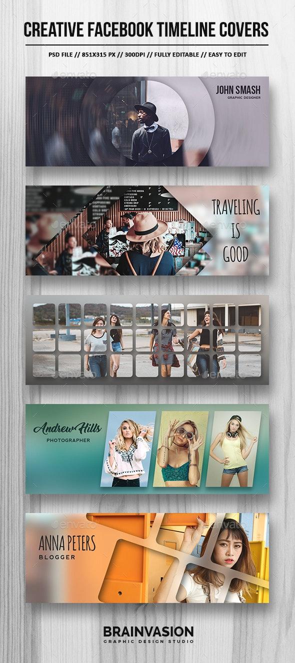Creative Facebook Timeline Covers Vol.01 - Facebook Timeline Covers Social Media