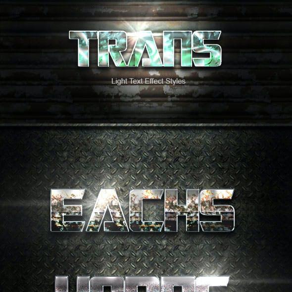 Trans Text Effect V12