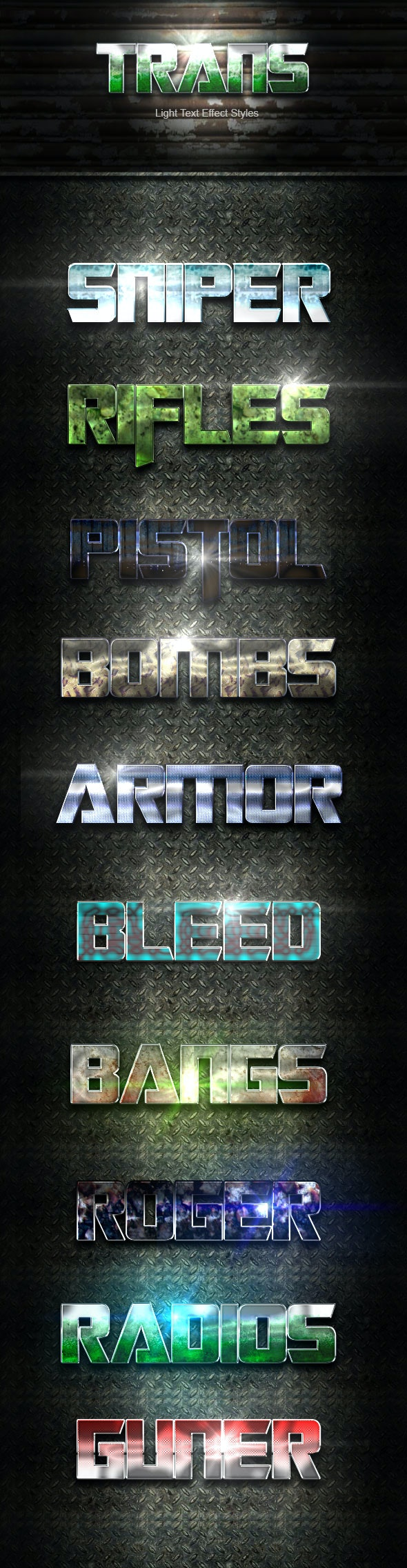 Trans Text Effect V14 - Text Effects Actions