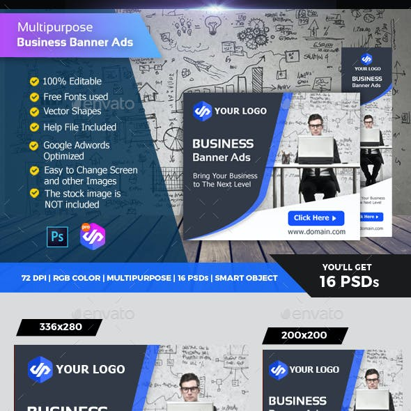 Corporate Business Banner Ads