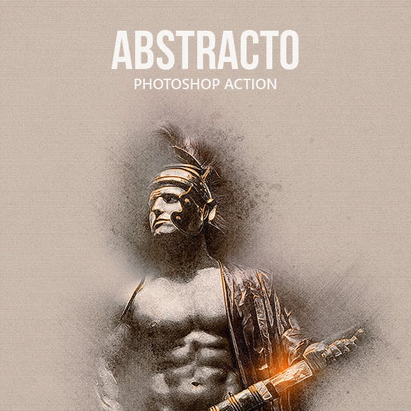 Abstracto - Photoshop Action