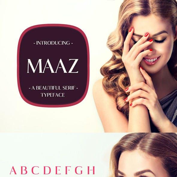 Maaz Serif Typeface