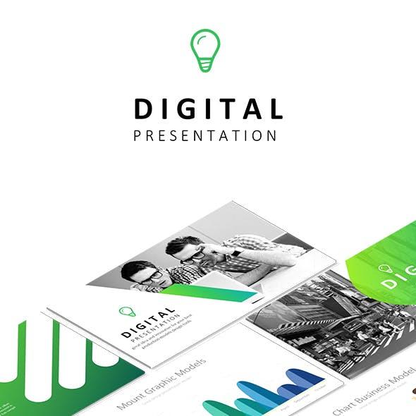 DIGITAL - Powerpoint Business Presentation