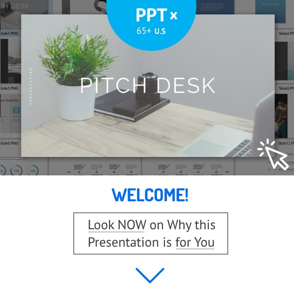 Pitch Desk - Powerpoint Template