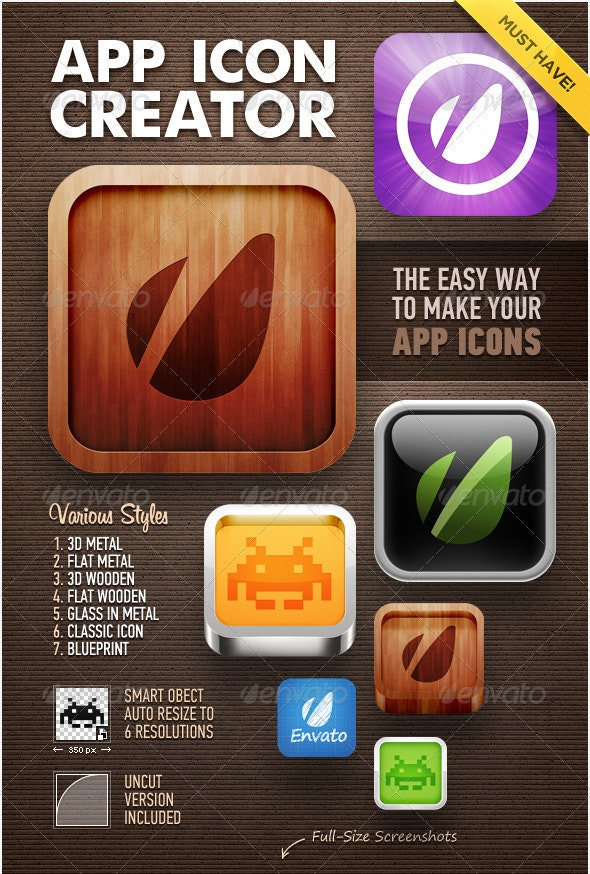 App Icon Creator - Software Icons
