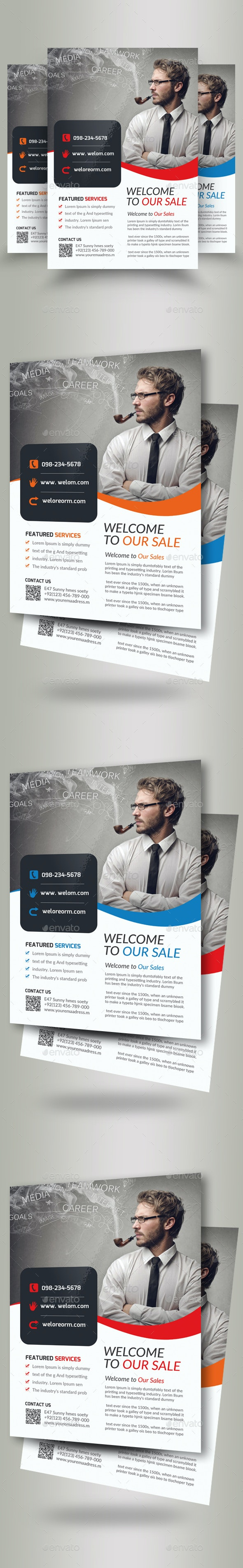 Business Analyst Flyer Template - Corporate Flyers