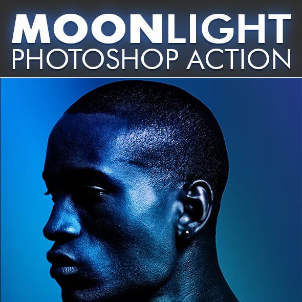 MoonLight Photoshop Action