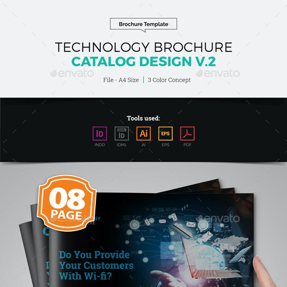 Technology Brochure Catalog Template v2