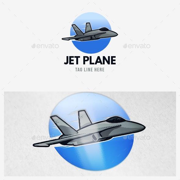 Jet Plane Logo - Objects Logo Templates