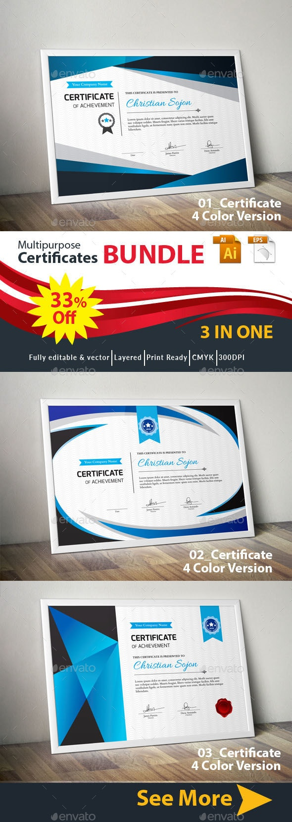 Certificates Bundle - Certificates Stationery