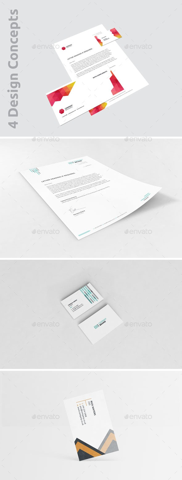 Business Stationery Pack - One - Stationery Print Templates