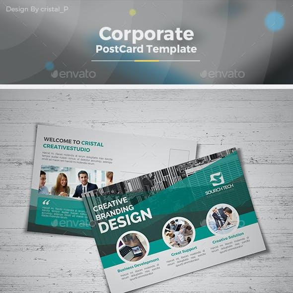 Business Postcard Template