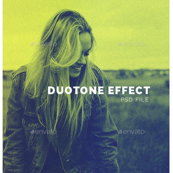 Duotone Photo Effect