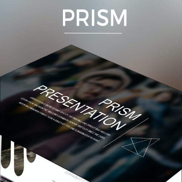 PRISM Google Slide Presentation Template