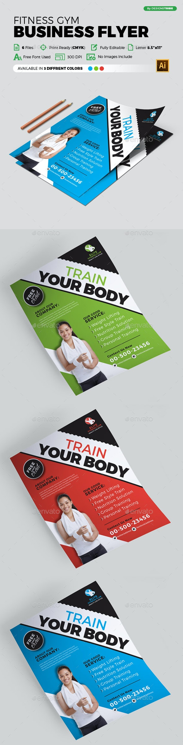Flyer – Multipurpose 294 - Flyers Print Templates