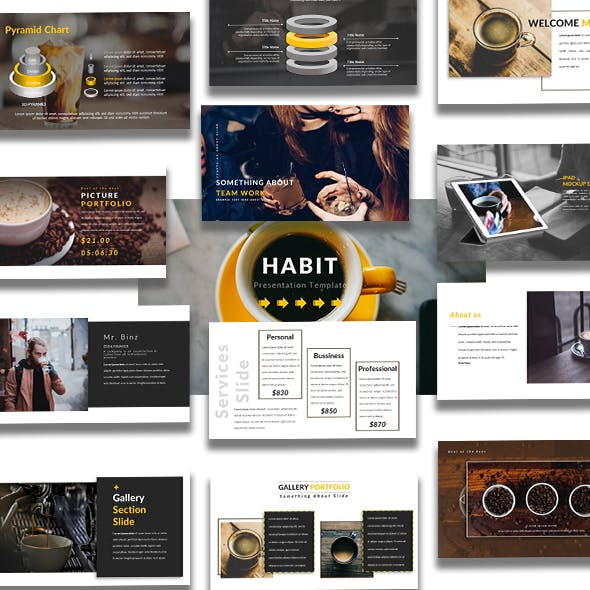 Habit - Creative Keynote Template