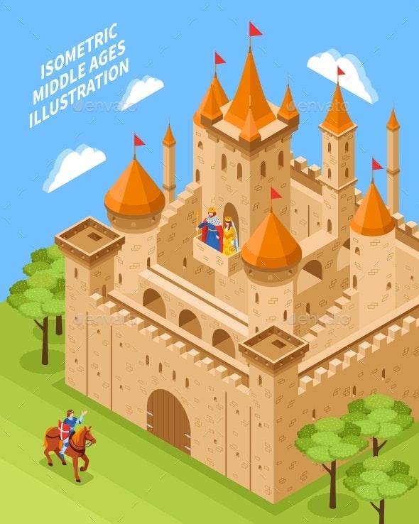 Royal Castle Composition - Buildings Objects