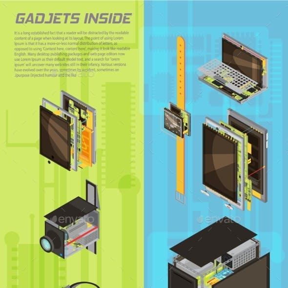 Gadgets Scheme Banner Set