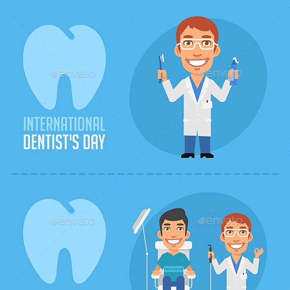 Concept Illustrations International Dentists Day