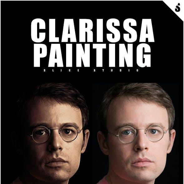 Clarissa Painting