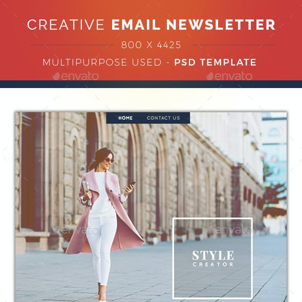 Creative Email Newsletter
