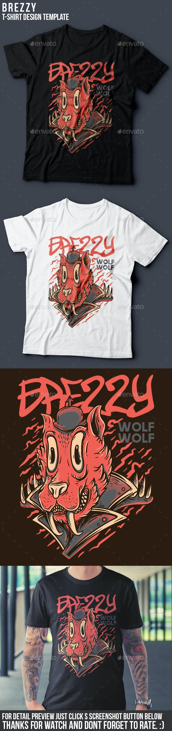 Brezzy T-Shirt Design - Funny Designs