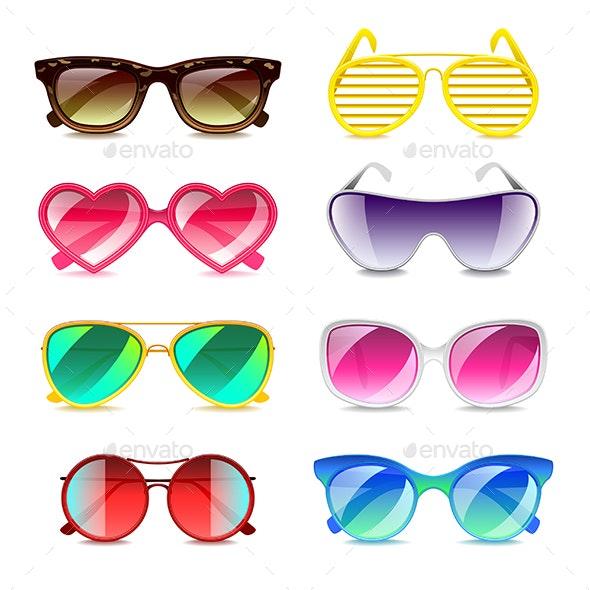 Sunglasses Icons Vector Set - Miscellaneous Vectors