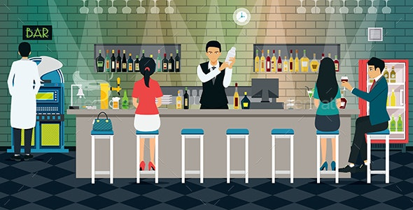 Bartender - Food Objects