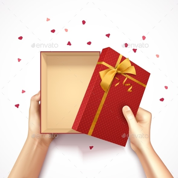 Confetti Gift Box Composition - Miscellaneous Seasons/Holidays
