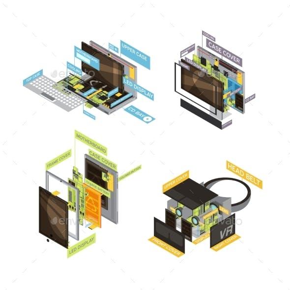 Gadgets Scheme Composition Set