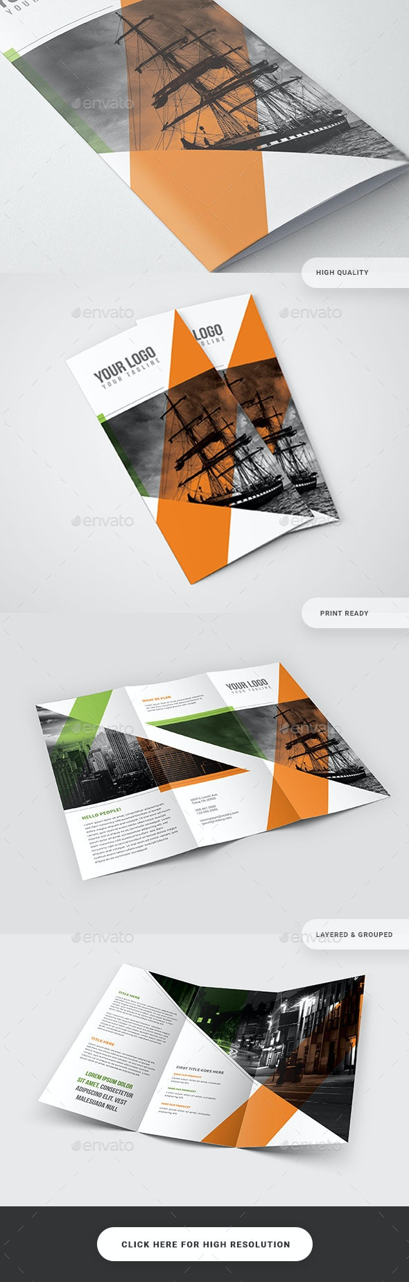 Multipurpose Trifold Brochure - Catalogs Brochures