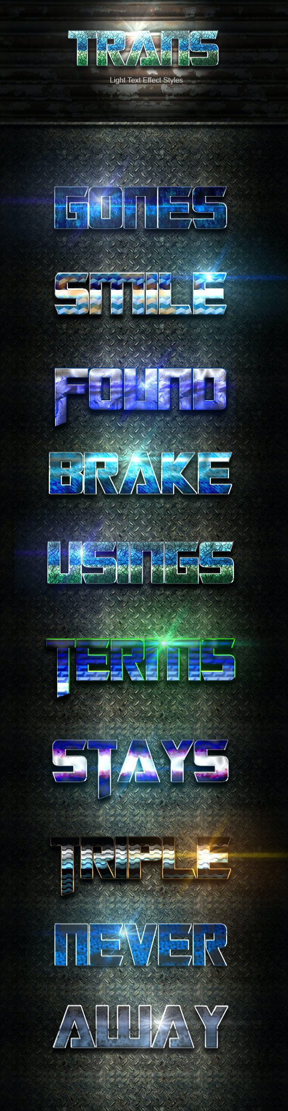 Trans Text Effect V10 - Text Effects Actions